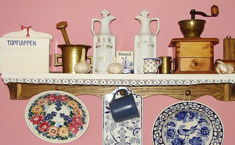 Cinco ideas de decoración vintage para la cocina