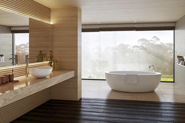 Tener un baño de lujo